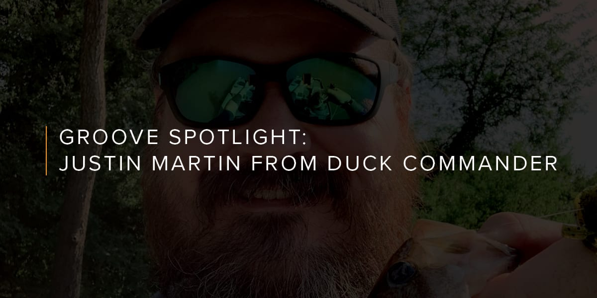 Influencer Spotlight: How fun is Duck Dynasty's Justin Martin in real life?
