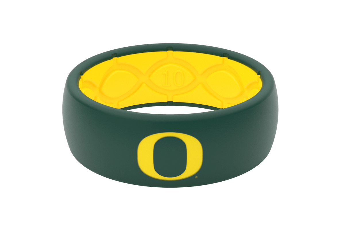 Original College Oregon - Groove Life Silicone Wedding Rings