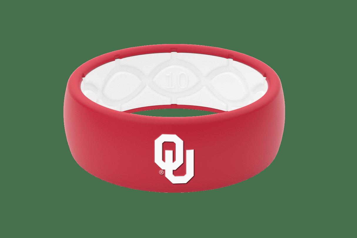 Original College Oklahoma - Groove Life Silicone Wedding Rings