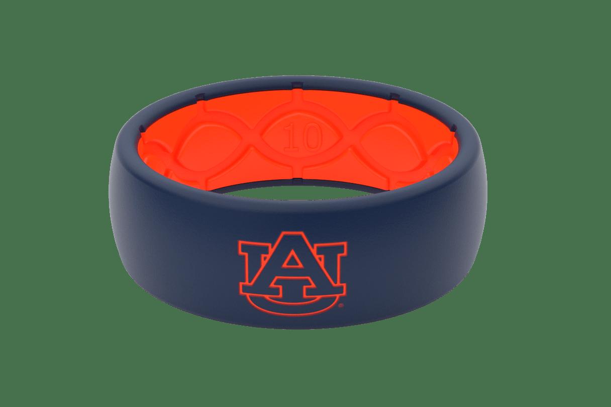 Original College Auburn Logo  viewed front on
