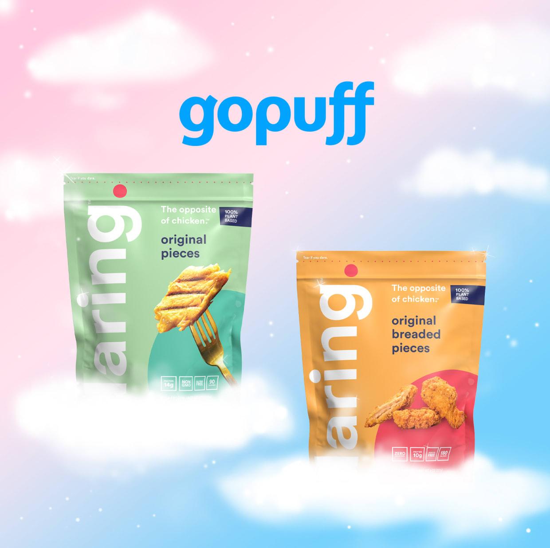 Daring Foods and GoPuff partnership image