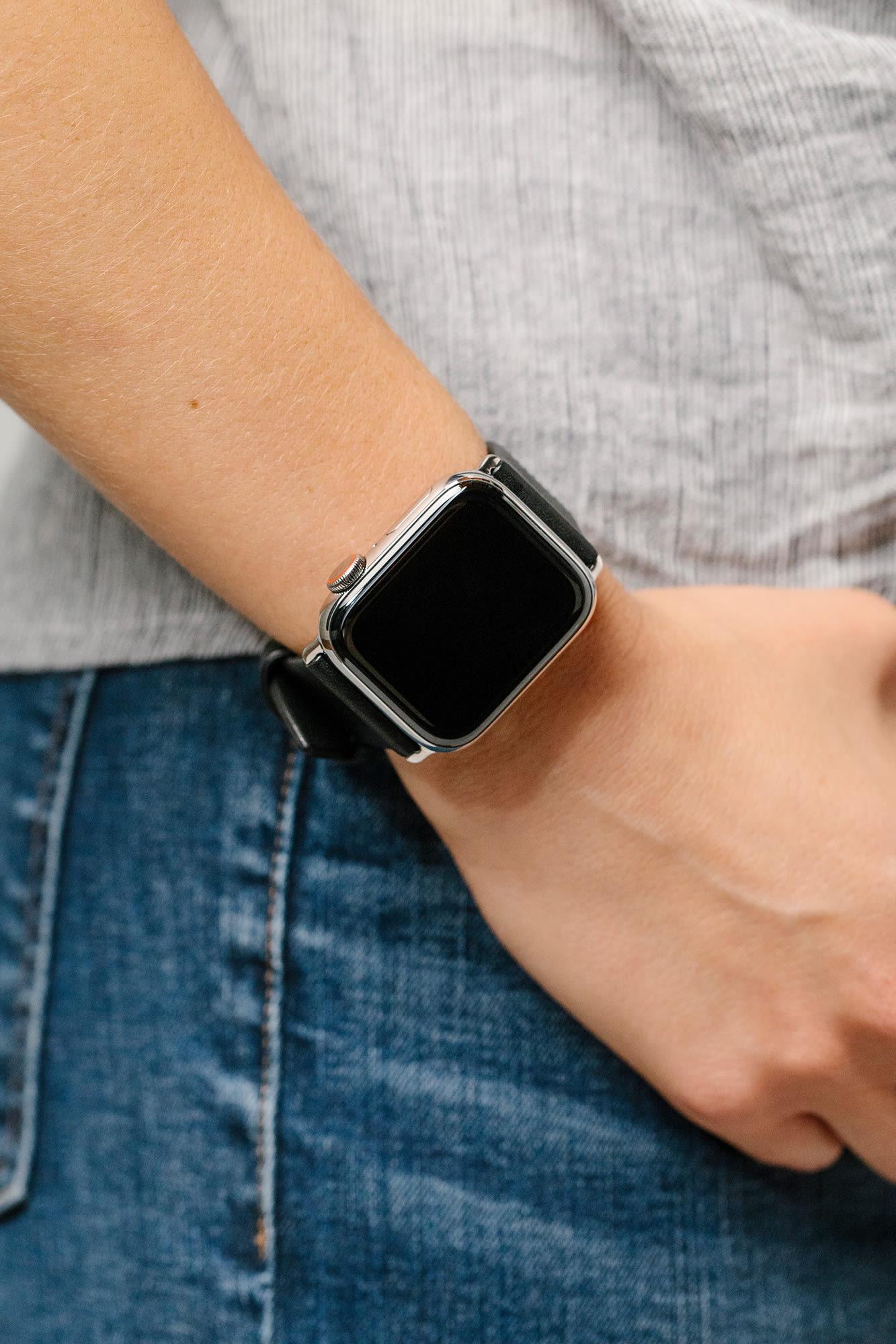 Silver Apple Watch
