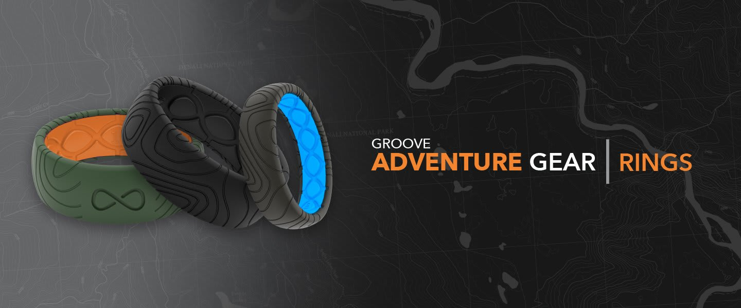 Groove Adventure Gear Topography Rings