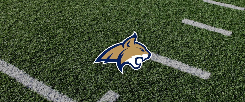 Montana State logo on football field