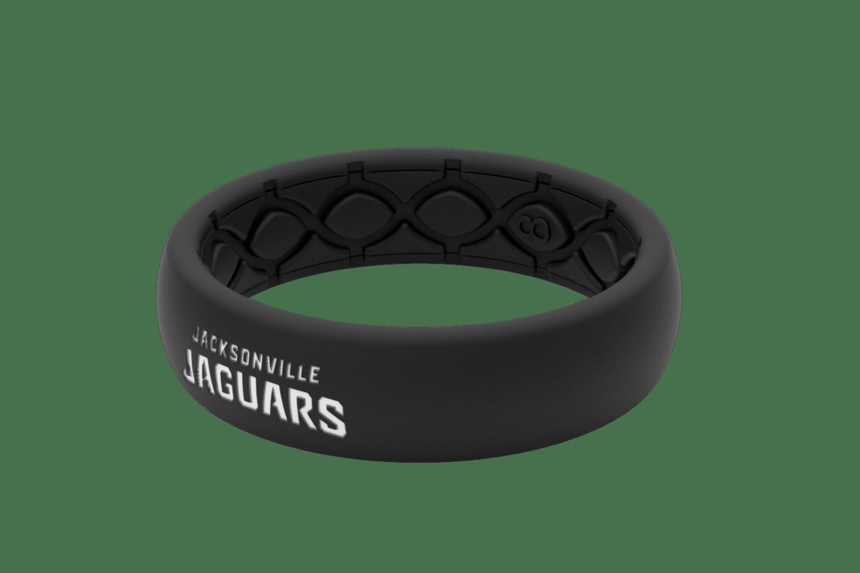 Thin NFL Jacksonville Jaguars Black -  viewed from side