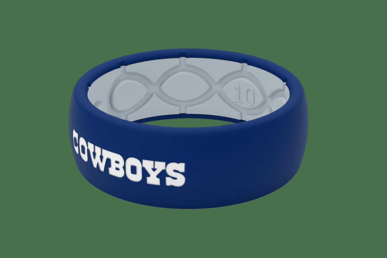 Original NFL Dallas Cowboys - Groove Life Silicone Wedding Rings