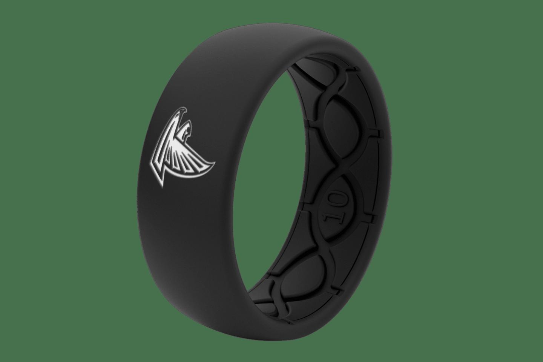Original NFL Atlanta Falcons Black - Groove Life Silicone Wedding Rings