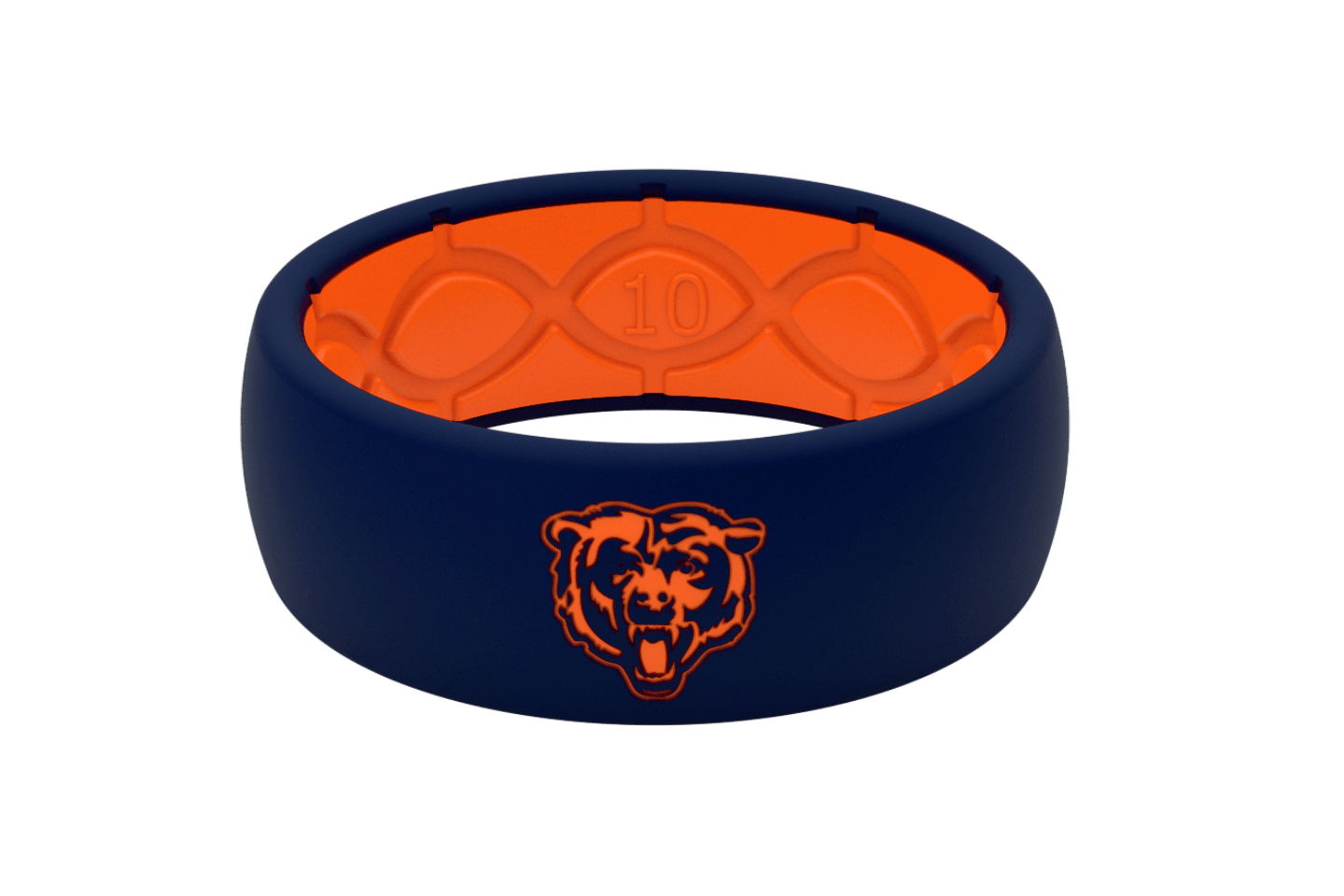 Original NFL Chicago Bears - Groove Life Silicone Wedding Rings