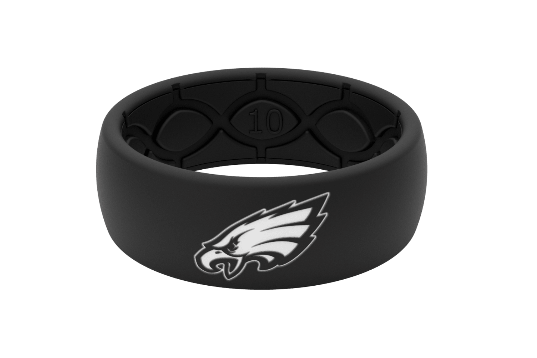 Original NFL Philadelphia Eagles Black - Groove Life Silicone Wedding Rings