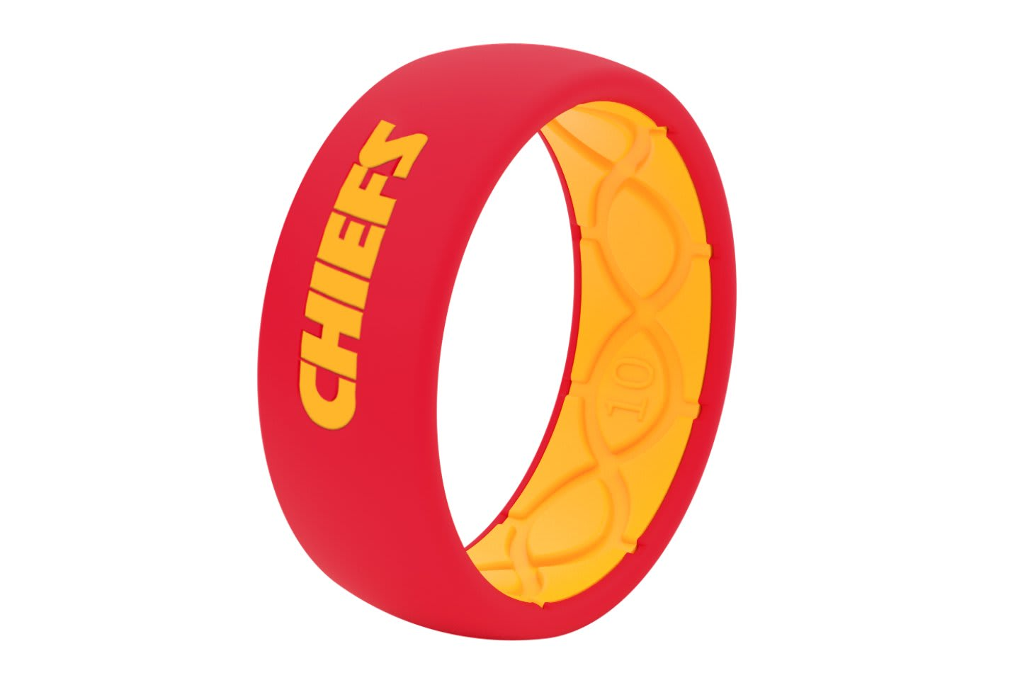 Original NFL Kansas City Chiefs - Groove Life Silicone Wedding Rings