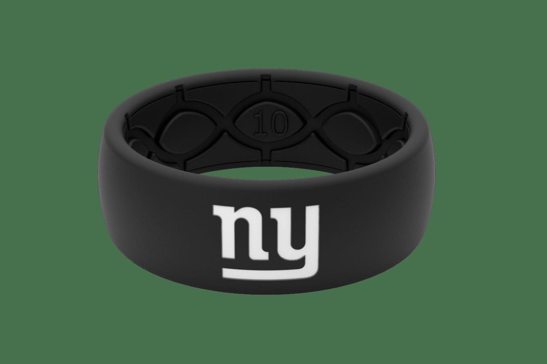 Original NFL New York Giants Black - Groove Life Silicone Wedding Rings