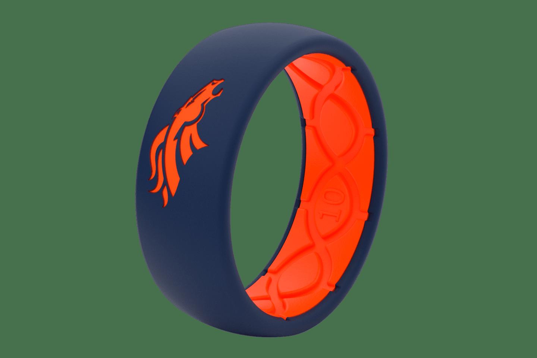Original NFL Denver Broncos - Groove Life Silicone Wedding Rings