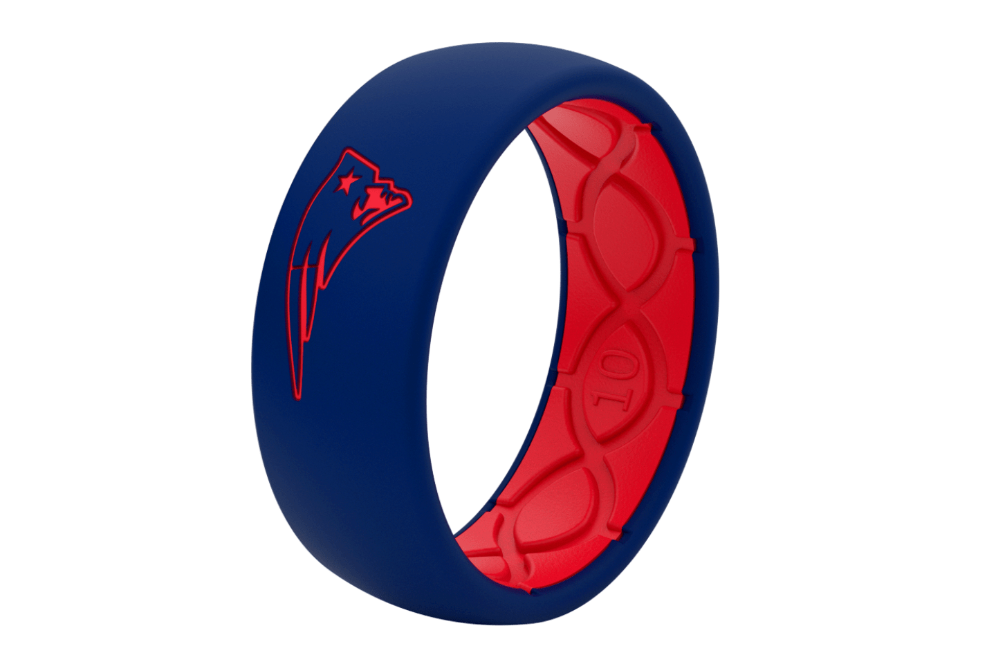 Original NFL New England Patriots - Groove Life Silicone Wedding Rings
