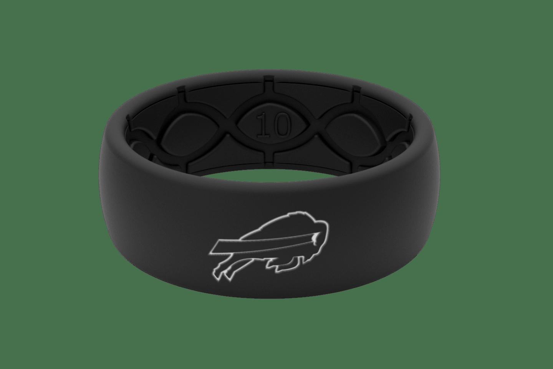 Original NFL Buffalo Bills Black - Groove Life Silicone Wedding Rings