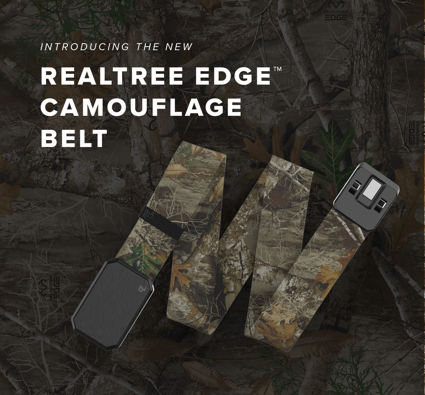 Introducing the new Realtree Edge Camouflage Belt   Shop Now