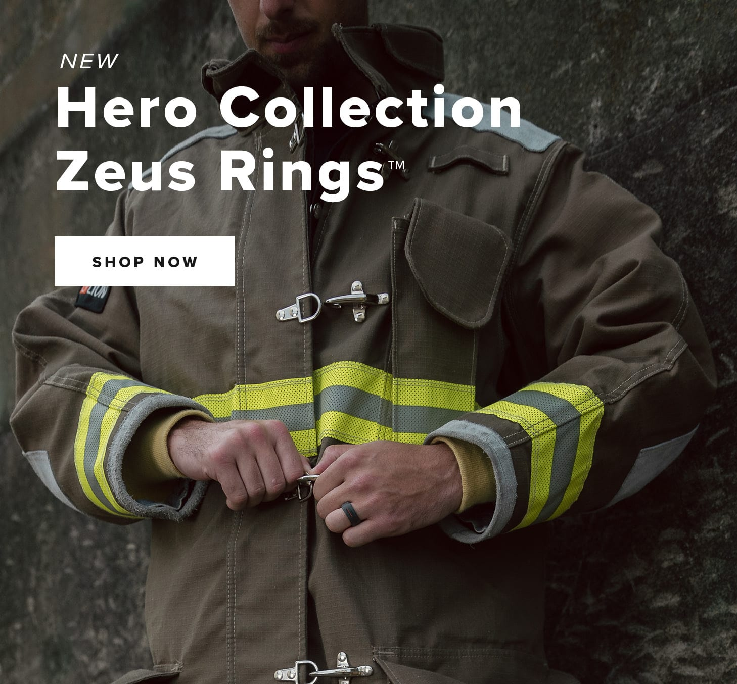 NEW HERO COLLECTION ZEUS RINGS