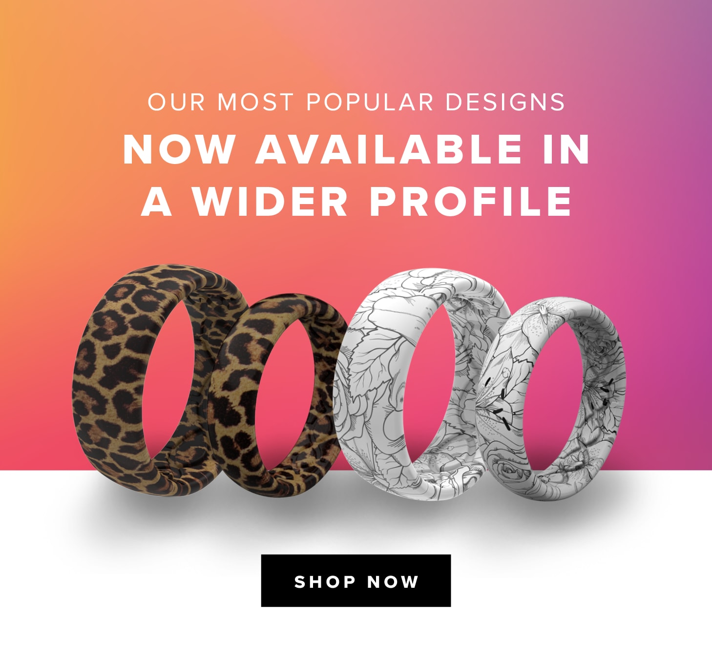 Our Most Popular Designs, Now Available in a Wider Profile