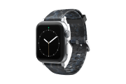 Nomad Rapids - Apple Watch Band with silver hardware viewed front on