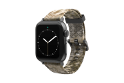 Kryptek Highlander - Apple Watch Band with space gray hardware viewed front on