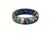 Blue Swirl - Thin  viewed front on