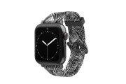 Folklore - Apple Watch Band with gray hardware viewed front on