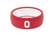 Original College Ohio State Logo  viewed front on