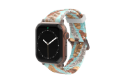 Brave - Katie Van Slyke Apple Watch Band with rose gold hardware viewed front on