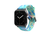 Opal - Apple Watch Band with gray hardware viewed front on