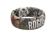Rogue Black and White Comic Ring | Groove Life