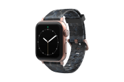 Nomad Rapids - Apple Watch Band with rose gold hardware viewed front on