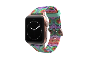 Gypsy Eyes Apple Watch Band with rose gold hardware viewed front on