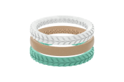 Acadia Stackable - Groove Life Silicone Wedding Rings