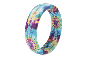 Groove Life Wild Thing Thin Tie-Dye viewed on its side