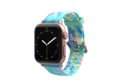 Opal - Apple Watch Band with rose gold hardware viewed front on