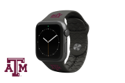 Apple Watch Band College Texas A&M Black - Groove Life