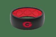 Original College Georgia Logo - Groove Life Silicone Wedding Rings