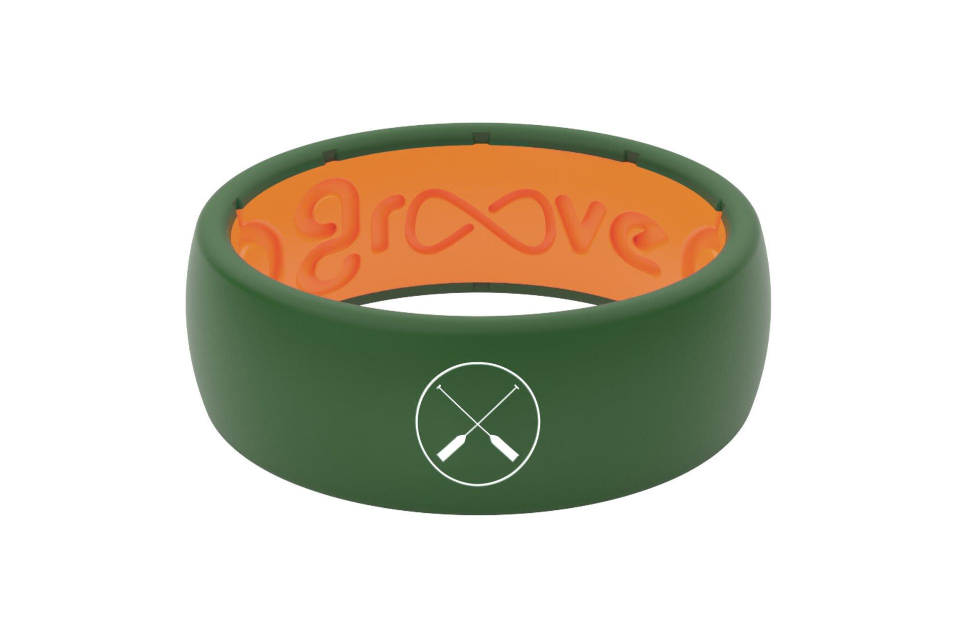 Original Custom Oars Moss Green/Orange - Groove Life