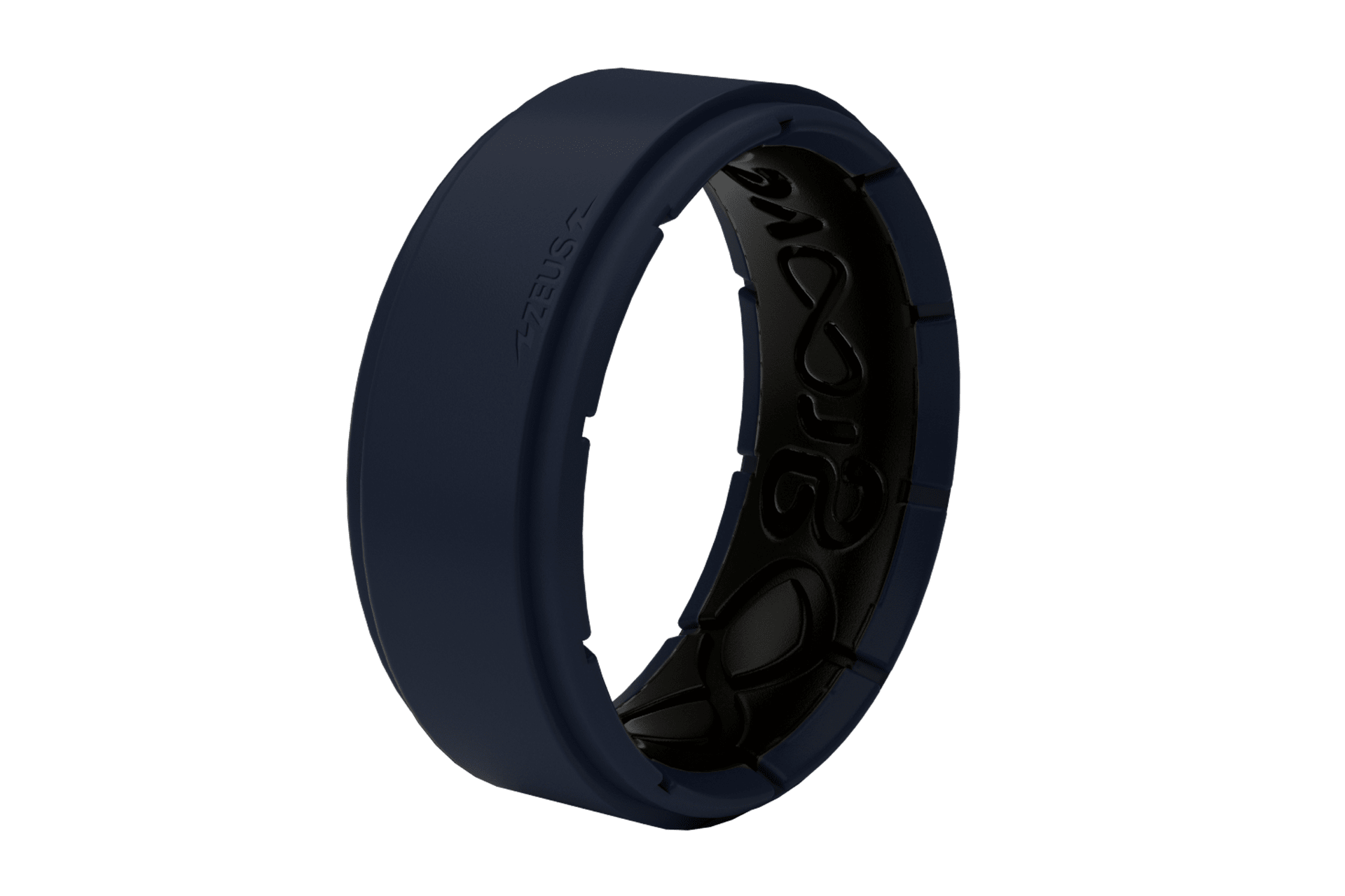 Zeus Deep Navy/Black Trainer - Groove Life Silicone Wedding Rings