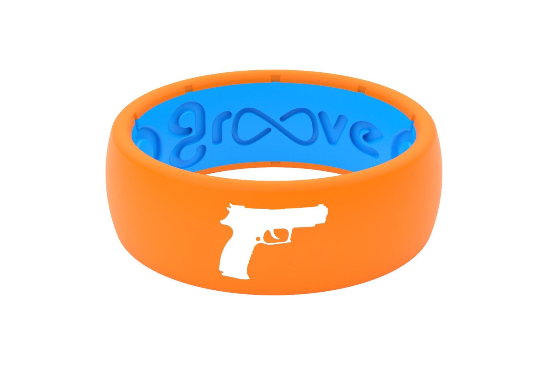 Original Custom Handgun Orange/Blue - Groove Life