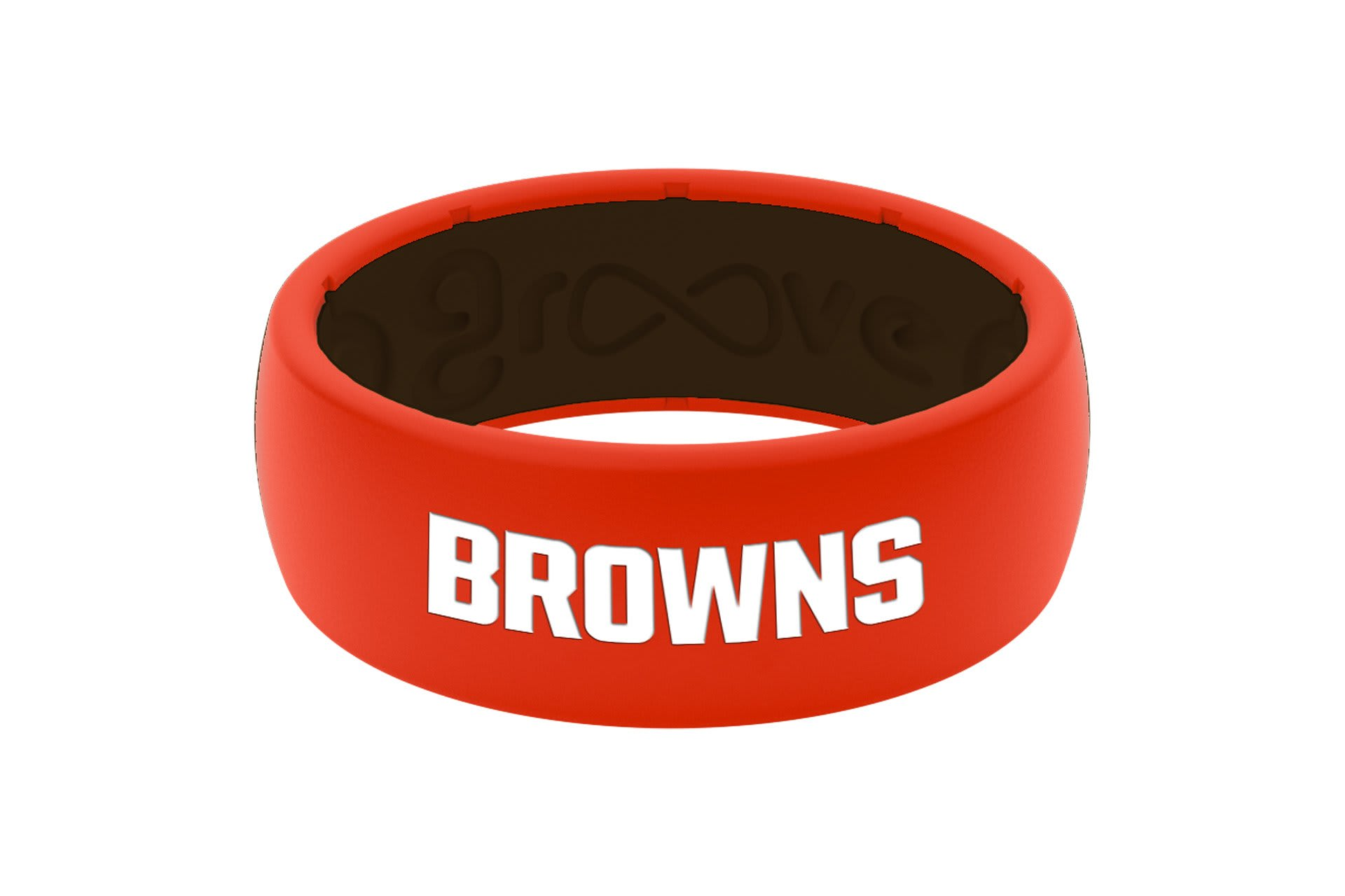 Original NFL Cleveland Browns - Groove Life Silicone Wedding Rings