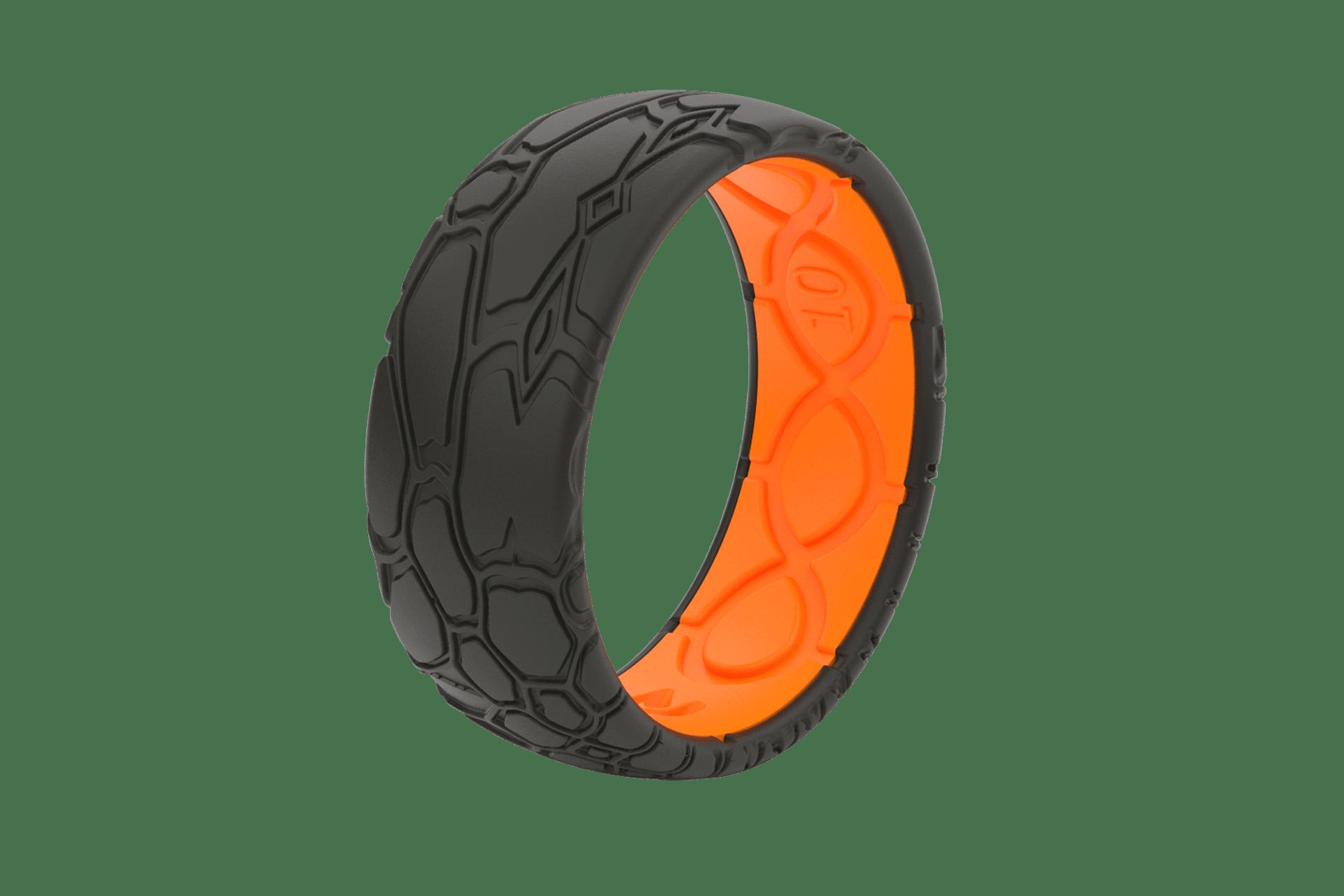 Original Dimension Kryptek Midnight Black/Orange -  viewed from side