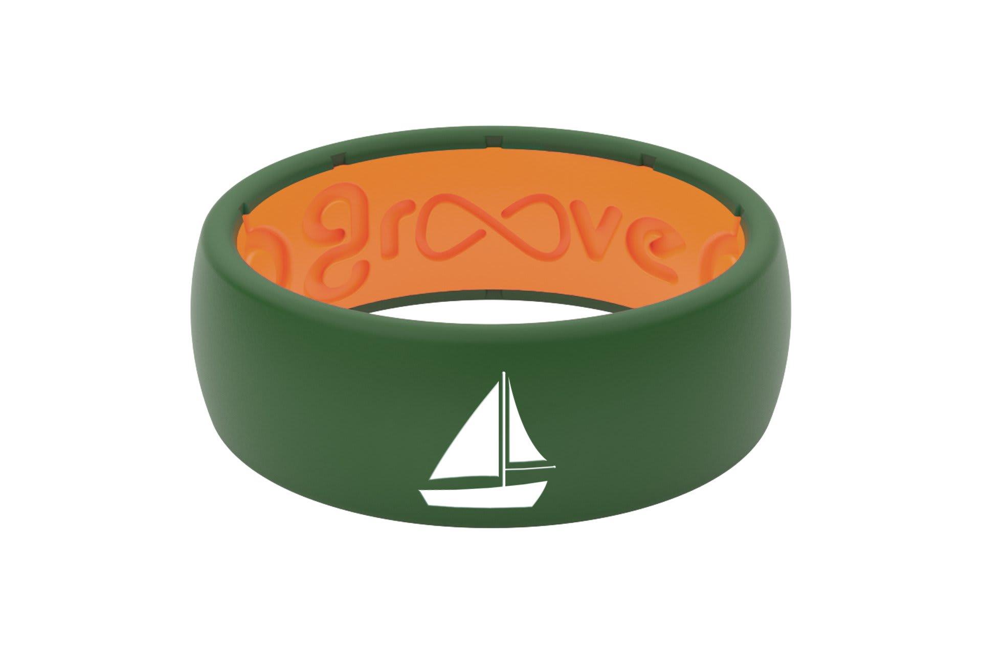 Original Custom Sailboat Moss Green/Orange - Groove Life
