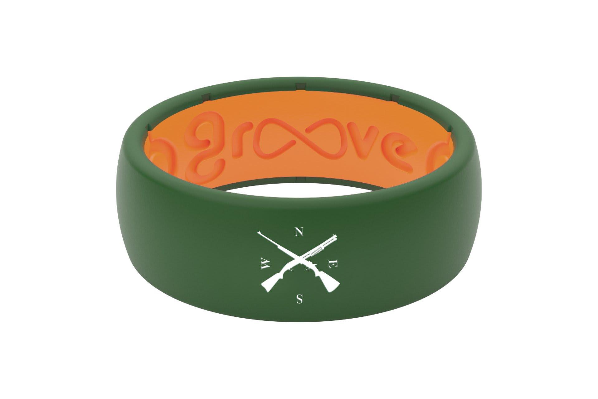 Original Custom Gun Compass Moss Green/Orange - Groove Life
