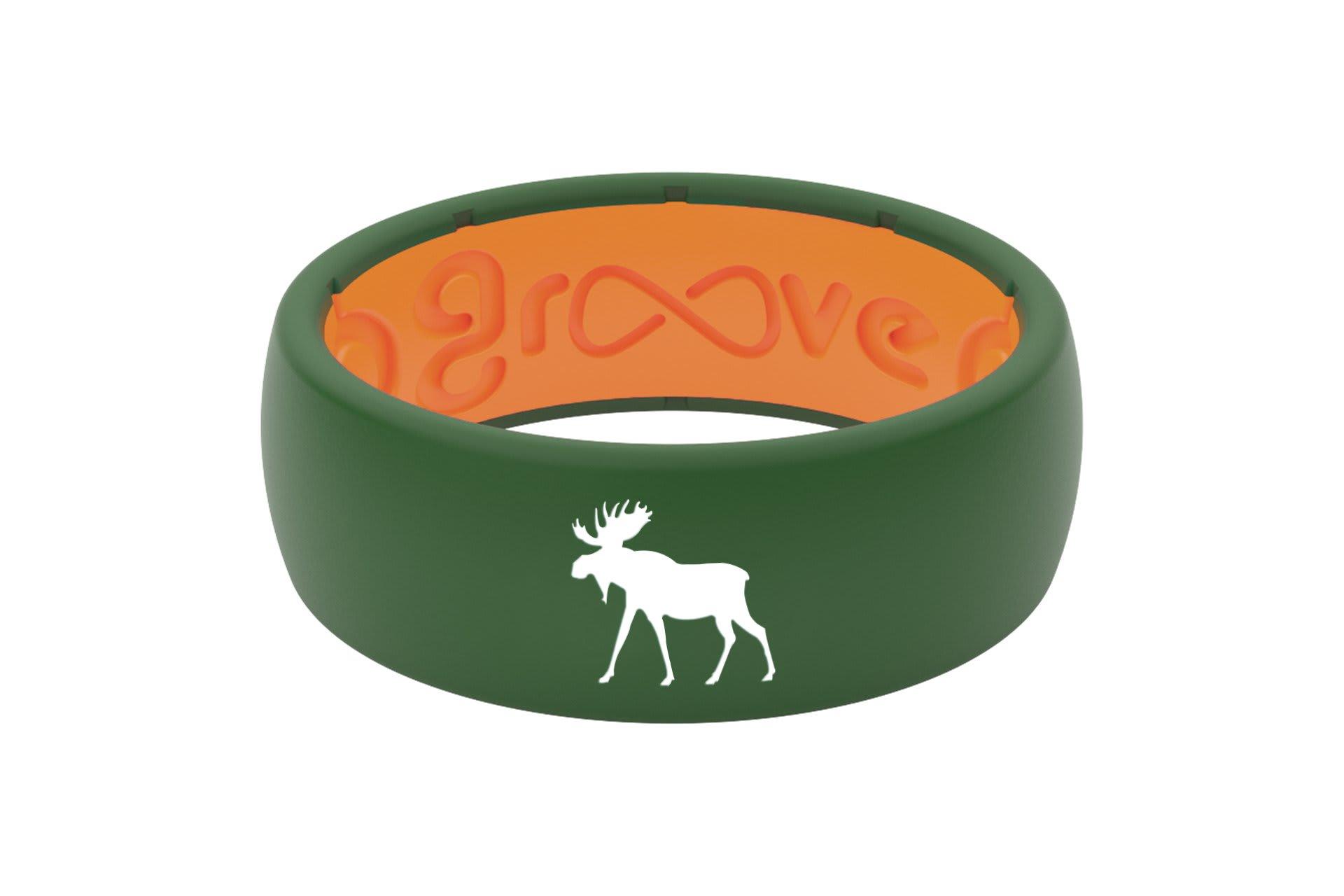 Original Custom Moose Moss Green/Orange - Groove Life