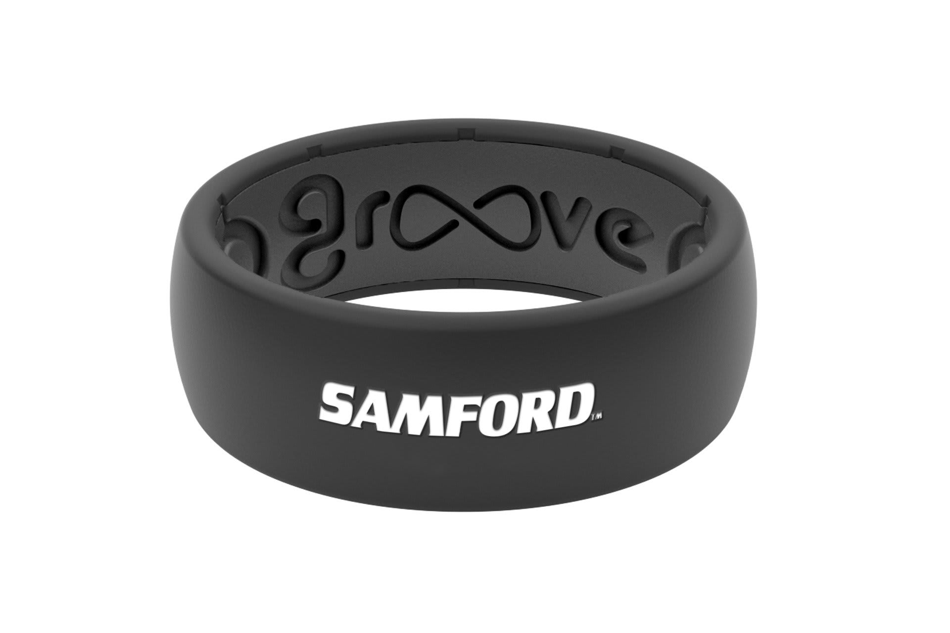 Original College Samford - Groove Life Silicone Wedding Rings