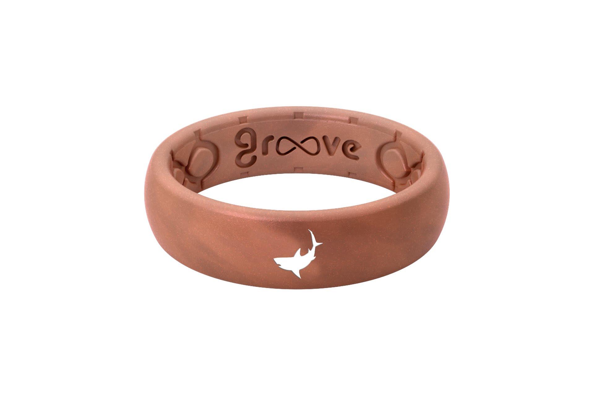 Thin Custom Shark Copper - Groove Life