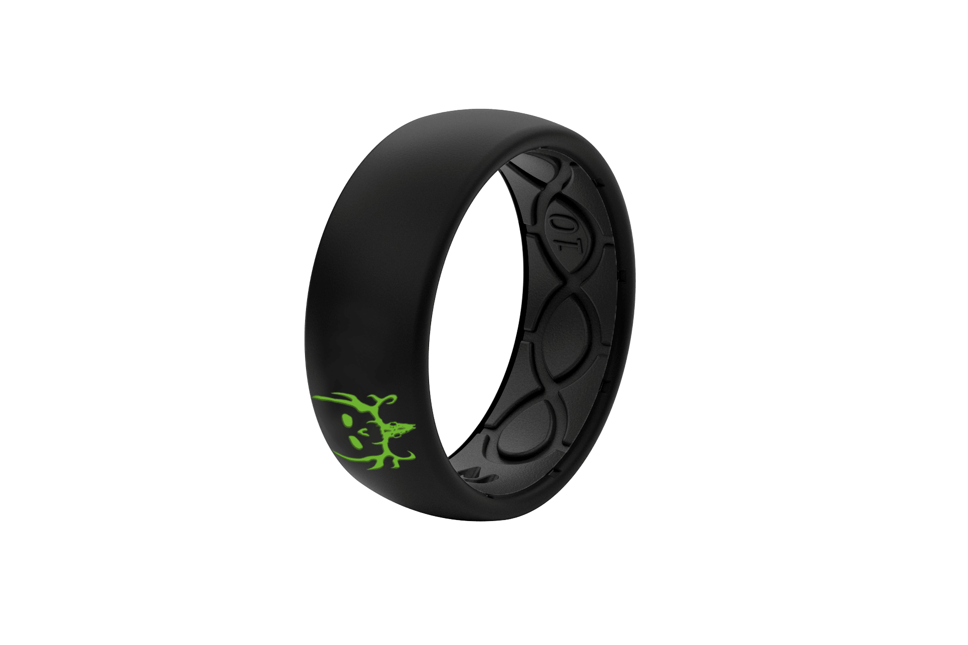 Original Bone Collector Midnight Black - Groove Life Silicone Wedding Rings