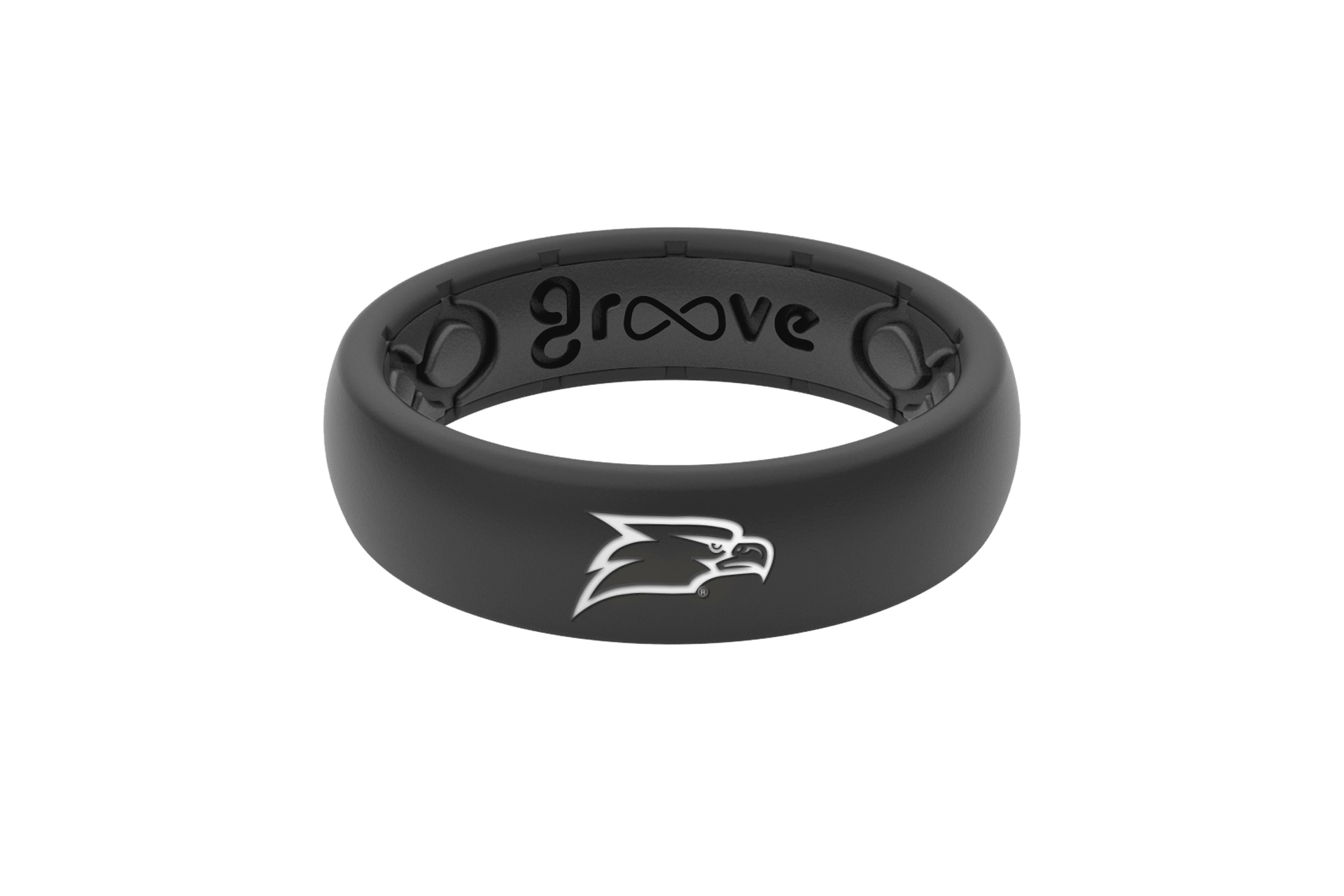Thin College Georgia Southern - Groove Life Silicone Wedding Rings