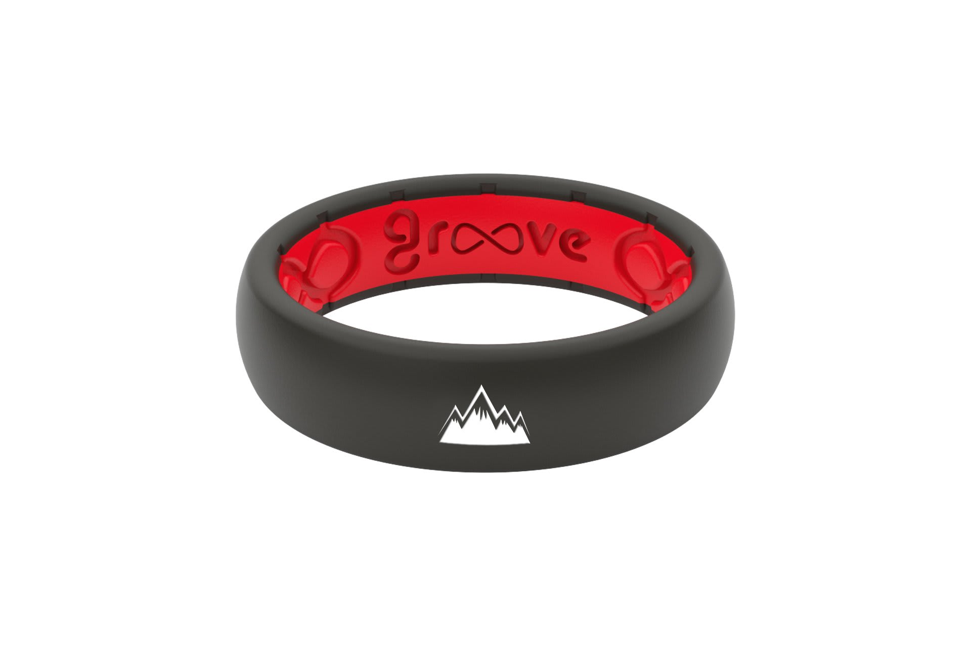 Thin Custom Mountains Black/Red - Groove Life