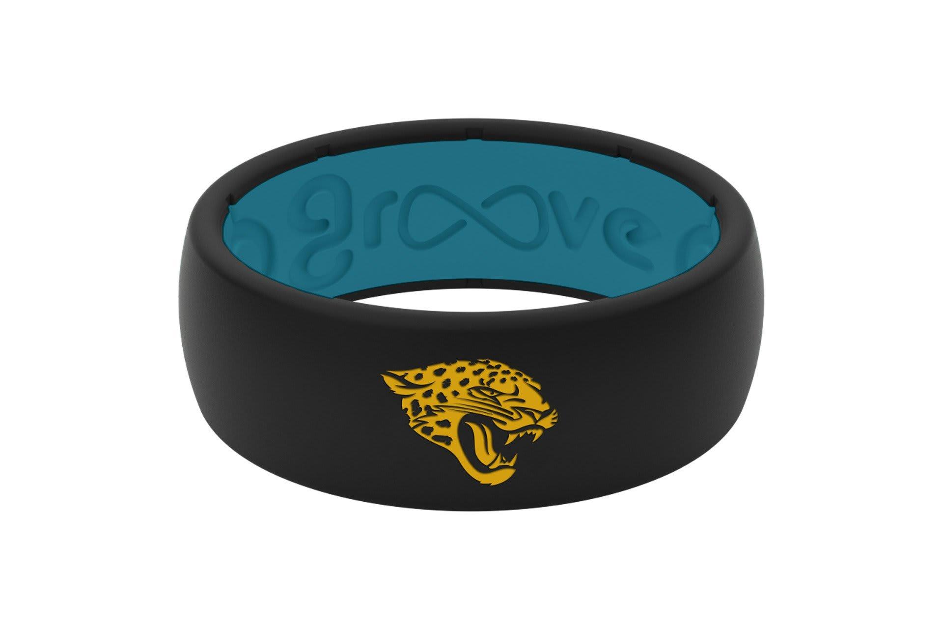 Original NFL Jacksonville Jaguars - Groove Life Silicone Wedding Rings
